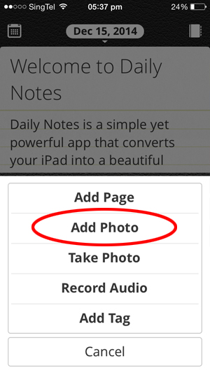 daily notes_best diary iphone app_2