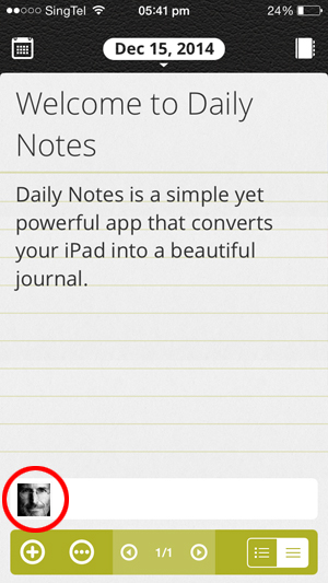 daily notes_best diary iphone app_3